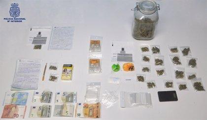 Un detenido tras desmantelar un importante punto de venta de droga en Ciudad Real