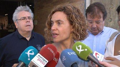 Batet recuerda que fue el Gobierno de Rajoy el que otorgó el tercer grado a uno de los presos trasladados a Basauri