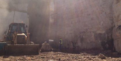 Zamora libera otros 25 metros de muralla medieval