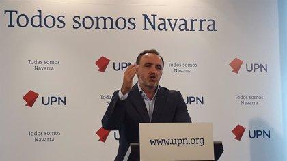 """Esparza (UPN) dice a PSOE y PP que su """"enfrentamiento debilita al Estado y las víctimas del terrorismo"""""""