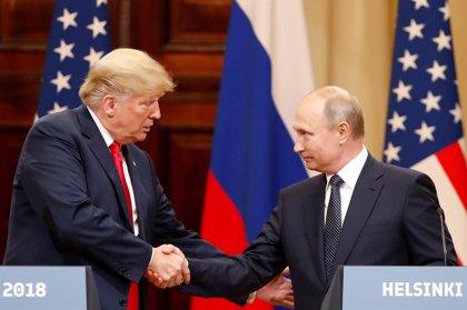 """El Kremlin ve las últimas sanciones contrarias al clima """"constructivo"""" entre Putin y Trump"""