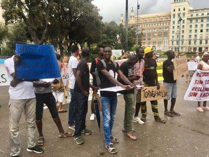El Sindicato Mantero reitera que los vendedores ambulantes fueron agredidos primero por turistas