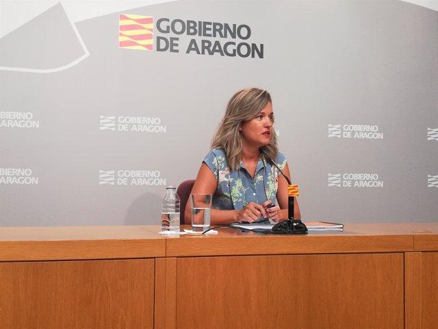 La consejera Pilar Alegría presenta el simulador del programa 50x50