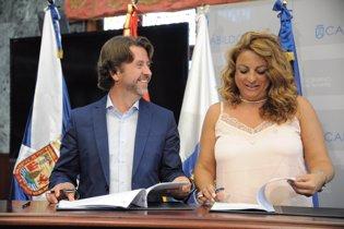 Carlos Alonso y Cristina Valido