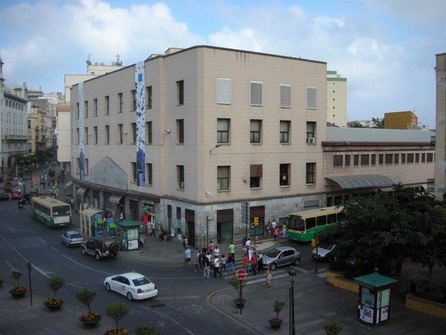 Imagen de archivo de una calle de Ceuta