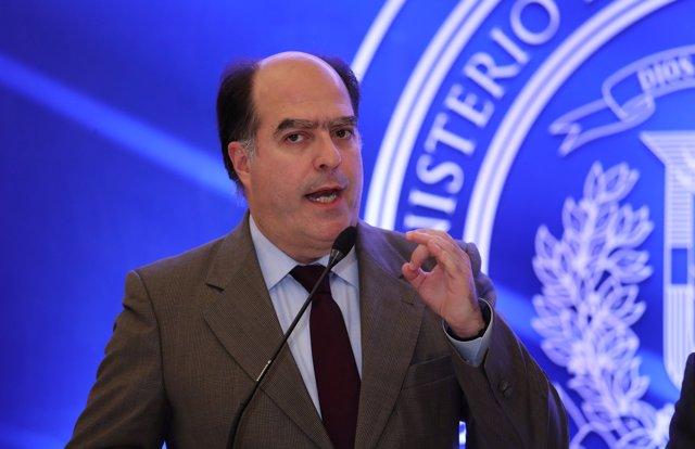 Julio Borges, expresidente de la Asamblea Nacional venezolana