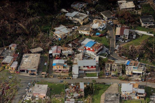 Calculan más de mil 400 muertos por 'María' en Puerto Rico
