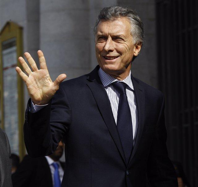 Mauricio Macri a Madrid