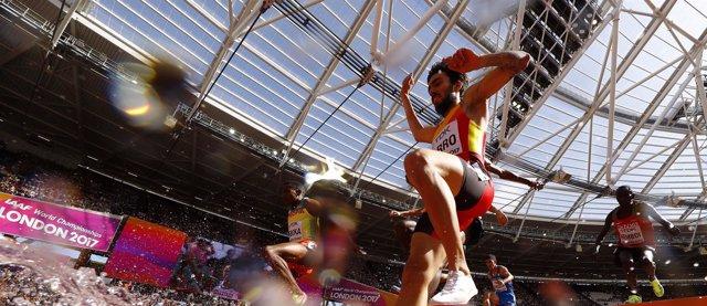 El atleta español Fernando Carro