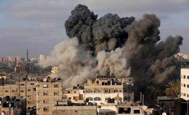 Ataques israelíes sobre a Franja de Gaza