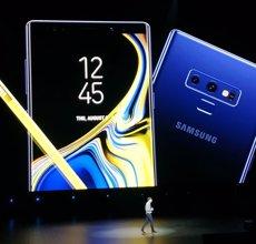 Samsung presenta Galaxy Note9, el seu 'phablet' amb pantalla més gran que aconsegueix el TB d'emmagatzematge (Europa Press)