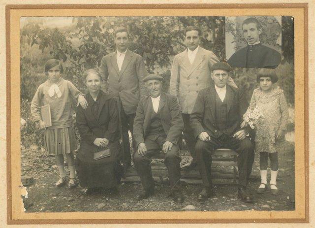 Familia Jauregi Ondarra en la década de 1930