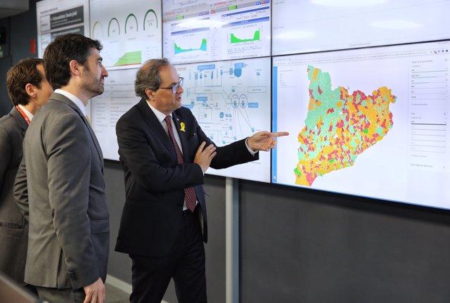 El president català, Quim Torra