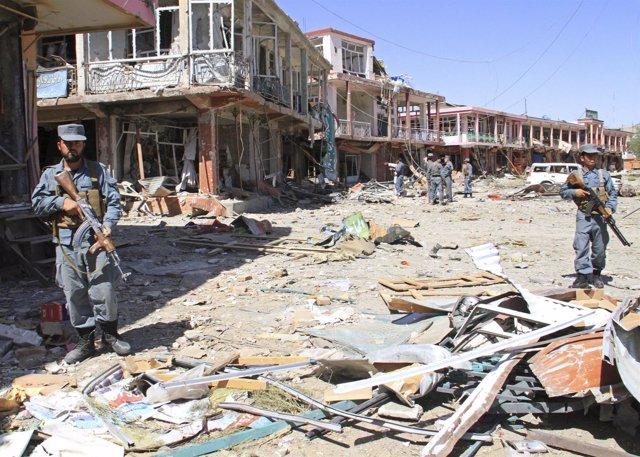 Ataque suicida en Ghazni