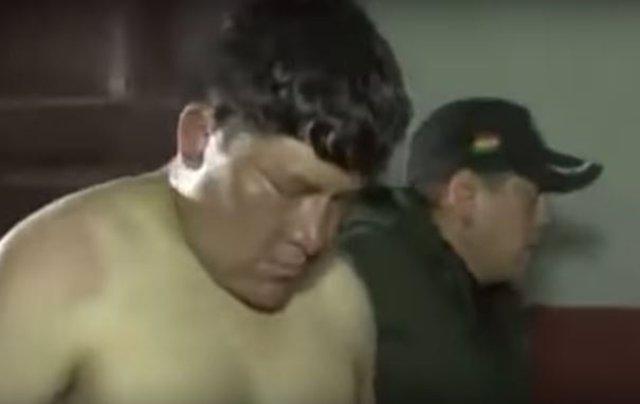 Diputado boliviano ebrio
