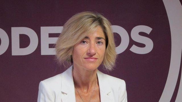 Pili Zabala (Elkarrekin Podemos), en una imagen de archivo
