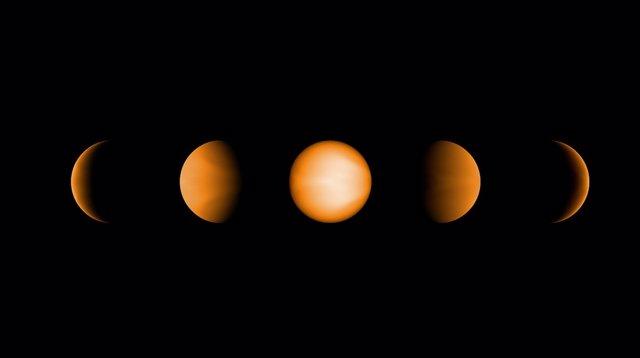 Simulación del Jupiter ultracaliente WASP-121b