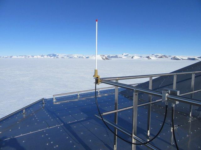 Científicos monitorizados para investigar el cambio climático de forma segura