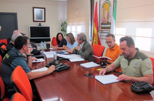 Reunión de coordinación del Plan Infoca en la provincia de Jaén.