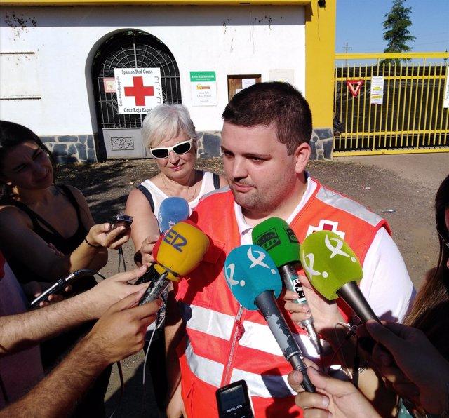 Director de Socorros y Emergencias de Cruz Roja en Extremadura, Víctor Domínguez