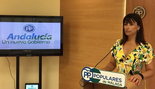 Ruth Sarabia vicesecretaria de Acción Social del PP de Málaga