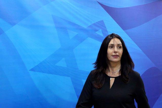 Miri Regev, ministra de Cultura de Israel