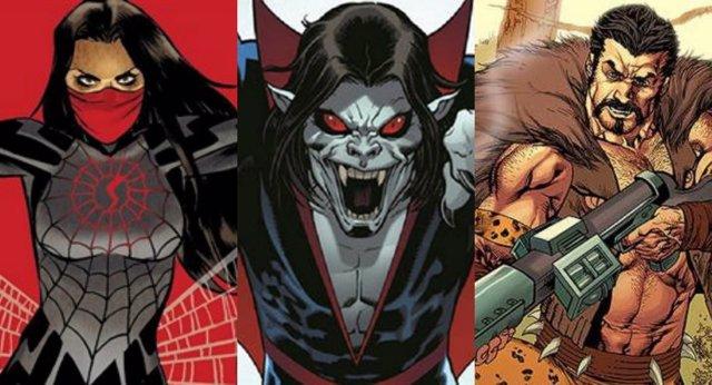 Sony prepara siete películas del universo Spider-Man