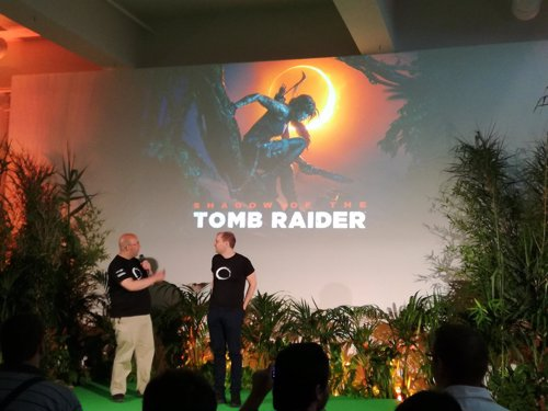 Presentación en Madrid de Shadow of the Tomb Rider