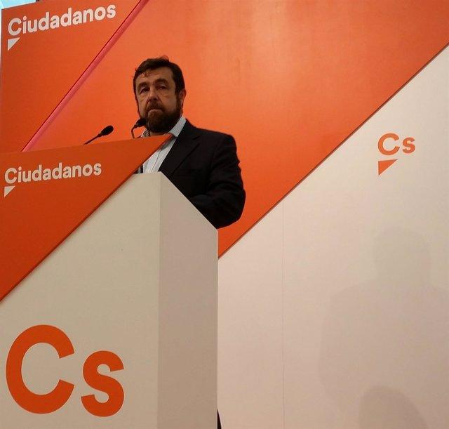 Secretario general del GPCs en el Congreso, Miguel Gutiérrez