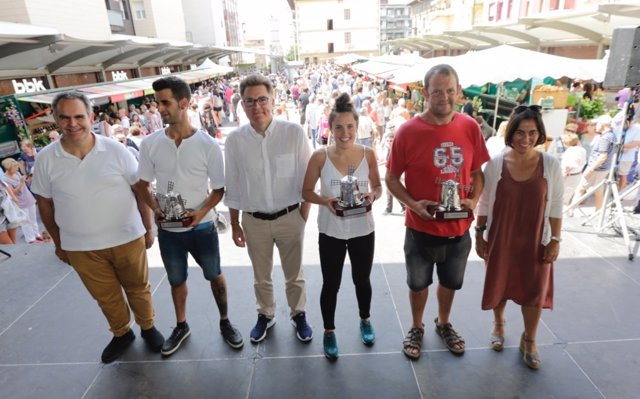 El Mercado de San Lorenzo de Getxo (Bizkaia) reúne este viernes a 10.000 visitantes