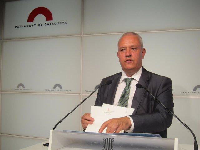 Santi Rodríguez, secretario general del PP catalán (Archivo)