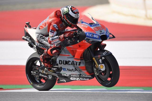 Jorge Lorenzo MotoGP Austria
