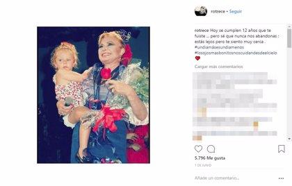 Rocío Flores lanza un dardo tras el documental de su abuela