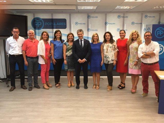 Bonig, Cosidó, y otros cargos del PP valenciano