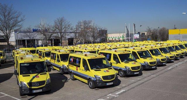 Ambulancias en la Comunidad de Madrid