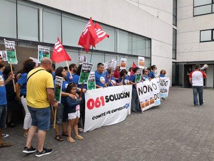 Suspende la huelga indefinida el personal de la central de coordinación del 061 del Grupo Norte