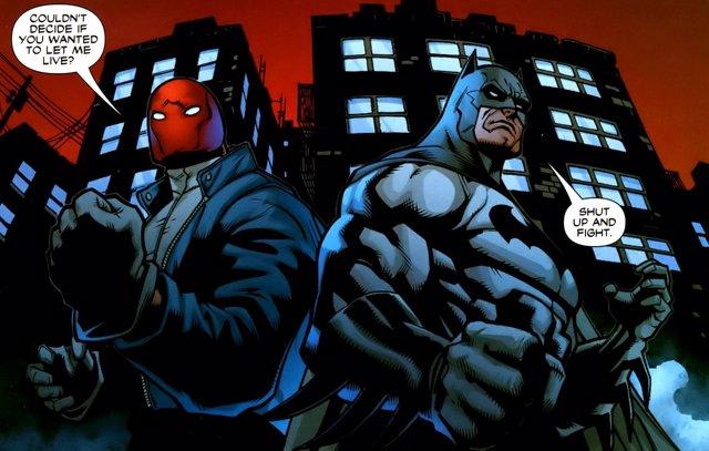 Batman y Red Hood