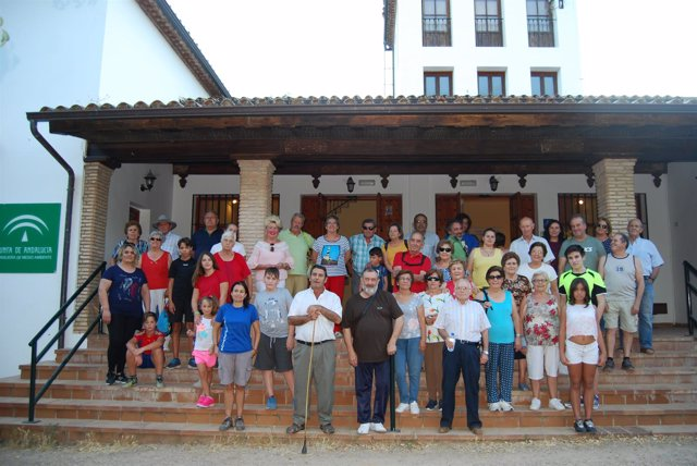 Participantes en la actividad
