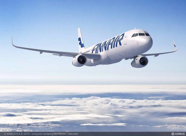 Avión de Finnair