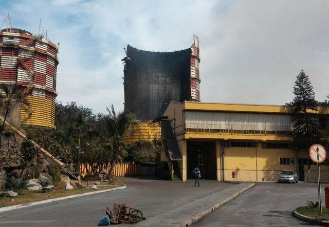 Explosión en una fábrica de Brasil
