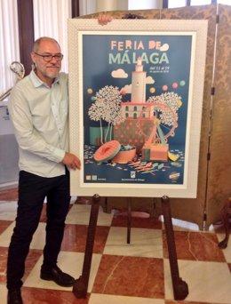 Pablo Aranda, pregonero de la Feria de Málaga 2018