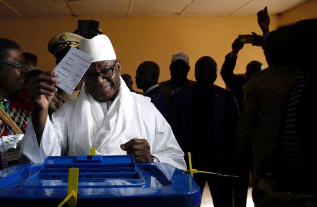 El presidente de Malí, Ibrahim Boubacar Keita