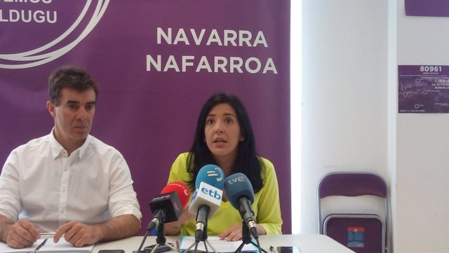 La senadora autonómica de Navarra, Idoia Villanueva