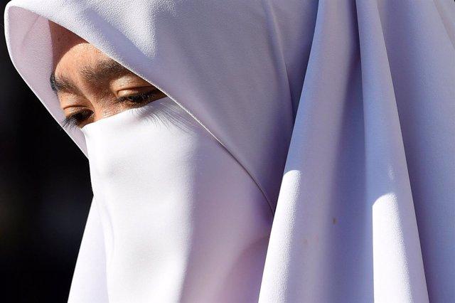 Mujer en Malasia