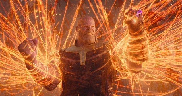 Thanos en Vengadores Infinity War