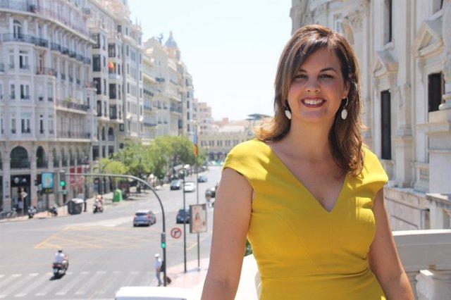 Primera teniente de alcalde y secretaria general del PSPV València, Sandra Gómez