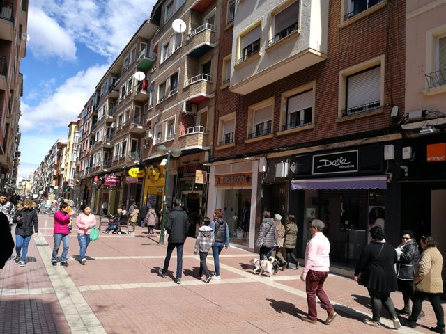 Calle Delicias de Zaragoza