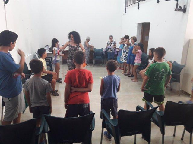 Participantes en los talleres de Diputación