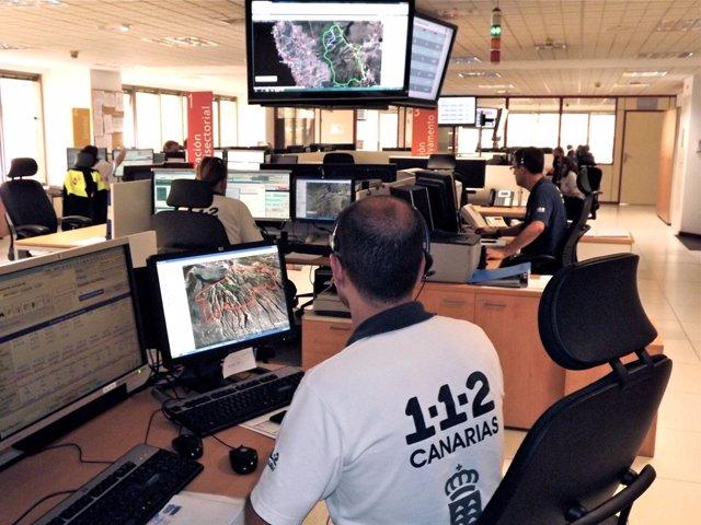 Sala operativa del 112