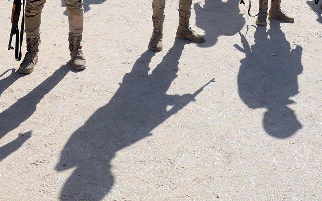 Las fuerzas egipcias matan a 12 supuestos milicianos en el Sinaí